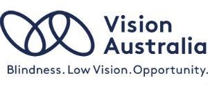Vision Australia Logo - Blindness. Low Vision. Opportunity.